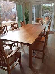 solid cherry dining room set dining tables boulder furniture arts