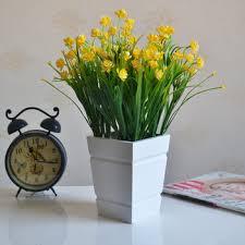 Modern Flower Vase Buy Modern Brief Wool Square White Vase Home Decoration Flower Tub