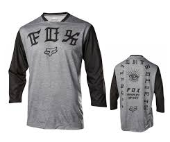 fox motocross stickers cambria bike fox racing indicator 3 4 sleeve fls jersey