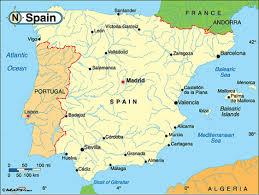 Alicante Spain Map by Spain By Mark Mcdearman