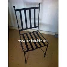 chaises en fer forgé chaise fer forgé fés coussin compris chaises en fer forgé axe
