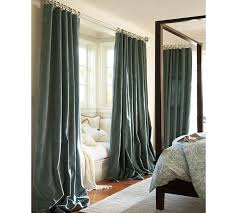 How To Hang Pottery Barn Curtains 37 Best Draperies Long Curtains Images On Pinterest Curtain