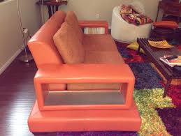 Orange Sofa Chair My Big Orange Sofa