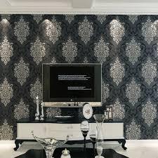 damask home decor damask wallpaper 3d luxury wallcovering euorpe non woven tv sofa