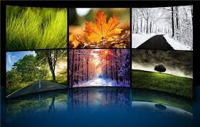 theme de bureau windows 7 les quatre saisons en thème de bureau pour windows 7 les infos de