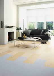 Mid Century Modern Living Room by Flooring Modern Living Room Design With Mid Century Dark Sofa And