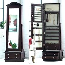wall mounted jewelry cabinet jewelry armoire wall mount listcleanupt com