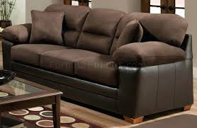 microfiber sofa and loveseat microfiber sofa and loveseat ashley bento 2 piece set brown