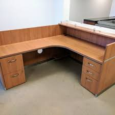 L Shaped Desk With Left Return Cherryman L Shaped Desk Left Return Retractable Keyboard Tray
