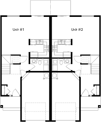 house plans 2 story mirrored duplex house plans 2 story duplex house plans