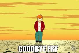 Fry Memes - goodbye fry meme shuffle pinterest futurama meme futurama and