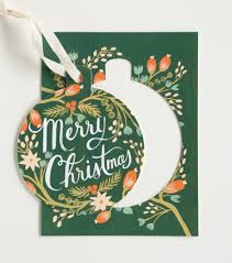 favorite cards part ii rifle paper pine and ornament