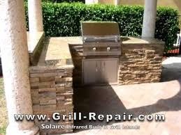 custom outdoor kitchen pictures with solaire infrared built in gas