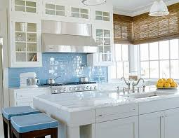 glass tile for kitchen backsplash kitchen appealing kitchen backsplash blue subway tile kitchen