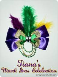 mardi gras bow purple green gold beaded bow tie from by the dozen new