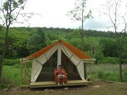 tent platform platform tents the orange chair