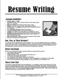 Resume For On Campus Job by Gettysburg College Resume Writing