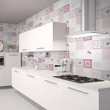 tapisserie cuisine ides de modele de papier peint pour cuisine galerie dimages