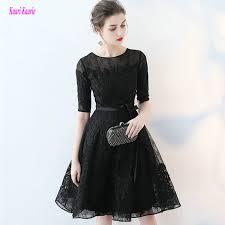 online get cheap black lace porm dress aliexpress com alibaba group