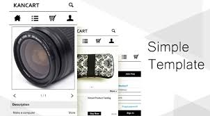 kancart mobile commerce publish your professional mobile web and