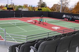 tennis courts with lights near me utah athletics george s eccles tennis center