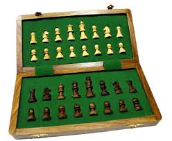 buy classic chess inlaid wood board game with wooden chess set 10