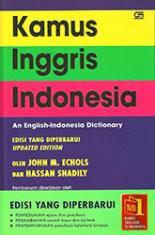 Kamus Bahasa Inggris Kamus Inggris Indonesia Cover M Echols Belbuk