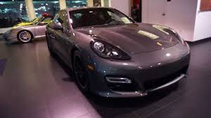 Panamera Red Interior 2013 Porsche Panamera Gts Agate Grey With Carmine Red Alcantara