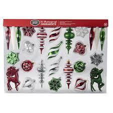 berkley shatterproof ornaments 35 ct assorted bj s