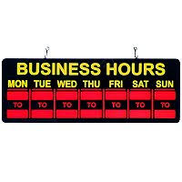business hours 20 open sign sam s club