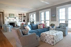 pretty coastal living room decor white square coffee table