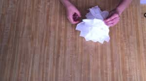 how to make a tissue paper halloween ghost youtube
