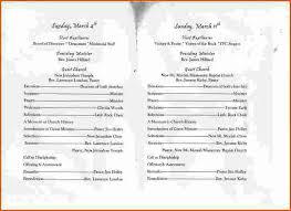 Wedding Anniversary Program 7 Church Anniversary Program Templatememo Templates Word