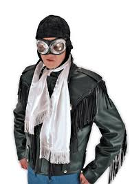 Roaring 20s Halloween Costumes Aviator Hat Pilot Cap Steampunk Roaring 20s Halloween