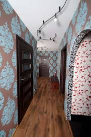 home hallway decorating ideas small hallway decorating ideas with wallpaper and track lighting