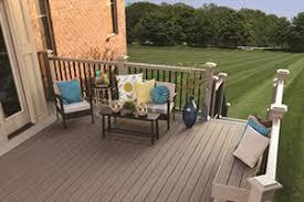 decking materials natural wood composite materials railings