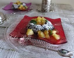 cuisine de assia gâteau au yaourt chocolat et pommes caramélisées cuisine de zika