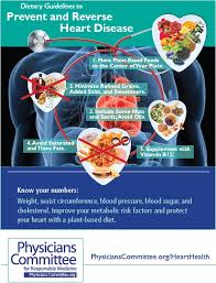 cholesterol and heart disease the physicians committee
