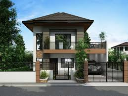 Low Cost House Plans With Estimate Two Story House Plans Series Php 2014012 Pinoy House Plans