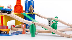 Make Wood Toy Train Track by Online Get Cheap Thomas Friends Wooden Train Set Aliexpress Com
