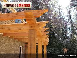 Pergola Rafter Tails by Cedar Timber Pergola