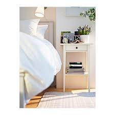 Hemnes Ikea Nightstand The Lack Of Bulkiness Will Hopefullly Open Up The Room Hemnes