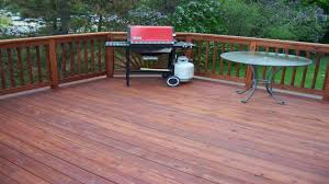 superdeck transparent stain for pressure treated wood youtube