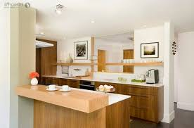 small apartment kitchen design photos black granite countertop