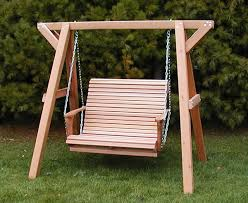 Most Comfortable Porch Swing Wooden Porch Swings With The Yellow Cushions Tips For Wooden