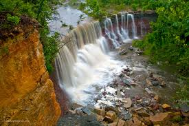 Kansas waterfalls images Travel blog by mickey shannon photography south central kansas jpg