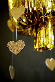 Party Chandelier Decoration Be Different Act Normal Gold Fringe Chandelier Diy Party