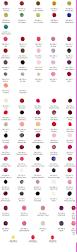 jessica geleration colour chart mobile nails pinterest