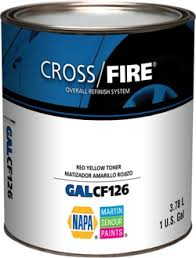 cross fire 2 8 voc acrylic enamel single stage color c1