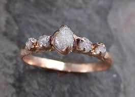 dainty engagement rings custom diamond gold multi engagement ring